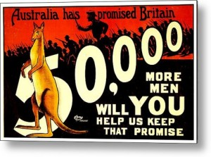 recruiting-poster--ww1--australian-promise-benjamin-yeager